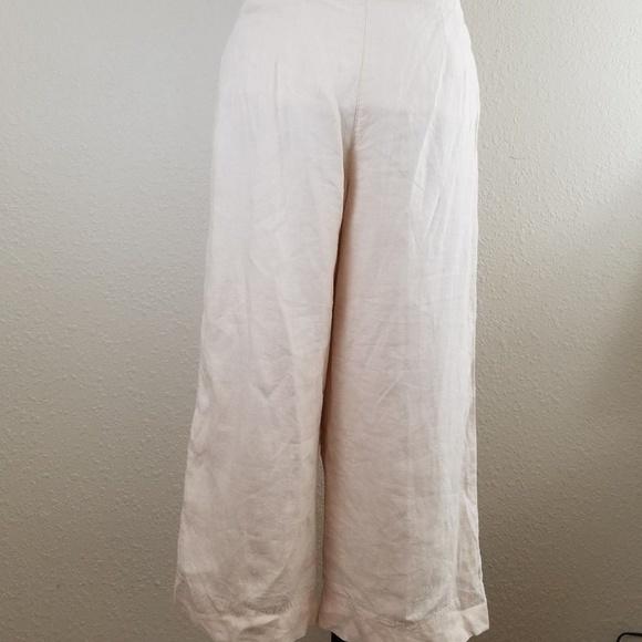 295cba4b9bfb7 NWT J Jill Linen Pants 16P Relaxed Cropped